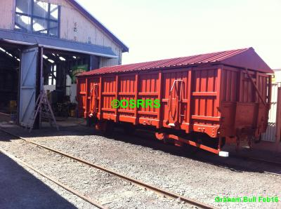 Coal Wagon Project Completed